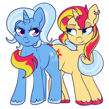 Tough GFs by lulubellct