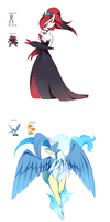 Pokemon Fusions Collection by NemiruTami