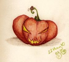 pumpkin by Gothic-Moonlight