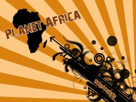 Planet Africa by Tonsy