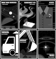 Science Fiction Covers II by JaviDLuffy