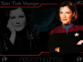 Kate Mulgrew: Captain Janeway by Belanna42