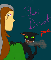 Sheri and Pooka by AngelWarriorQueen
