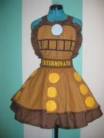 Doctor Who Dalek Cosplay Pinafore by DarlingArmy