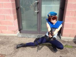 Jill Valentine pose 1 by LittleRikku91