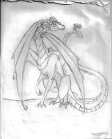 Random Pointless Dragon Picture by TemporalMaidOfDoom