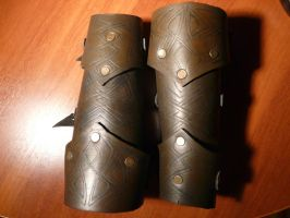 rogue's vambracers by sister-in-arms