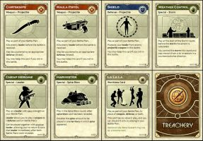 Dune Treachery cards by ilya-b