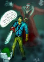 Evil Dead Christmas Special by Valiant-Werewolf
