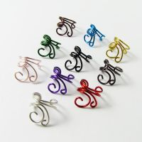 Mini Swirls Ear Cuffs by Gailavira