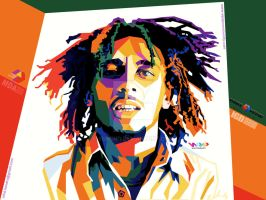 wpap BOB MARLEY SIMPLE Ia by YUHEND