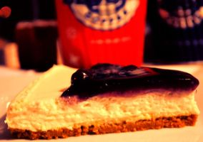 Blueberry Cheesecake yum yum by clongetch
