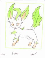 leafeon by Yami-The-Orca