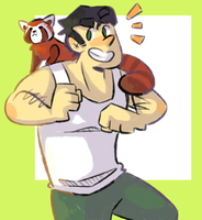 who needs to practice poses by skullboxers