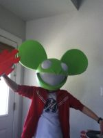 Deadmau5 Head Finished 1 by NU66S