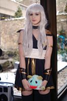 Ashe and Poro Frost Con 2015 by Lightning--Baron