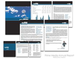 Prime Media Annual Report by puls0r