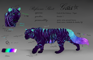 Gaia - Reference Sheet by Taliy4h