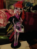 Operetta phantom of the Opera doll by DarkRoseDiamond123