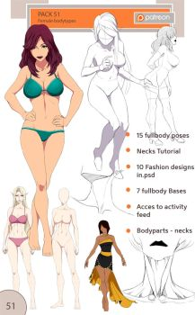 51 pack - female body types by Precia-T