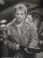 Michael Biehn as Kyle Reese in 'The Terminator' by dreerose