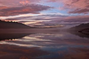 Tidal River Reflection by EvaMcDermott