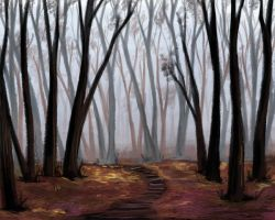 Forest of Creepy Creepiness by Bored-dood