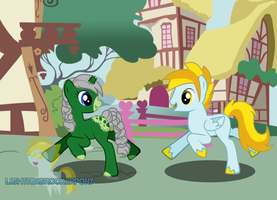[Pony Creator] Running around Ponyville by LR-Studios