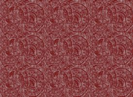 paisely wool fabric RED by Jaxxys-Stock