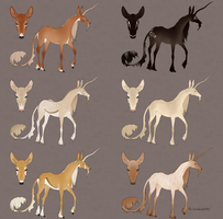 Festive Fawnling Designs 2014: Batch 10 by IthilFaer