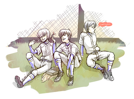 Diamond no Ace babies by Rinska