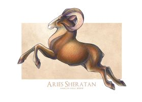 Aries Sheratan of Mars by Katmomma