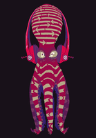 Headphone Squid Spirit Guide by SteedAngus