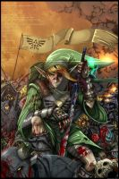 Link - The Legend of Zelda (Color complete) by BradyGoldsmith