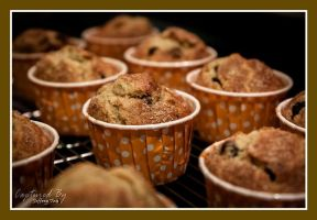Chocolate Chips Muffin 02 by PoodleSchmoodle