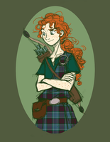 Boy!Merida by pixie-rings