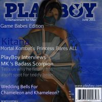 Kitana Playboy Cover by IamPrincessKitana