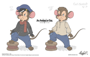 AAT V Project - Fievel Adult Concept by Maxl654