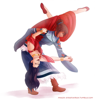 Korrasami - It don't mean a thing... by Ma-rin