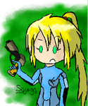 Zero Suit Samus by Squiggles-8D