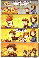 SPN - Happy Birthday by KataChan