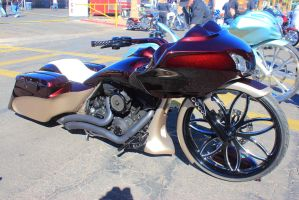 Nice Red and Tan Bagger by DrivenByChaos