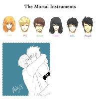 The Mortal Instruments by fanjo0