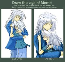 Draw this again Meme - Tears by Nechan8