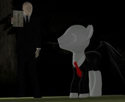 Of (slender)men and manes... by mattwo