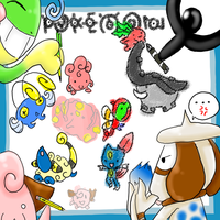 PKMN:-Lets Draw together-: by WolfyTails