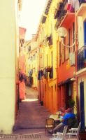 Street in France by Cherry-Cheese-Cake