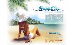 swim city by v5design