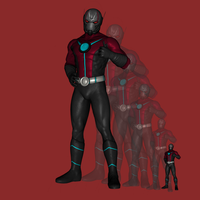 Earth X3B1 - Ant-Man by hank412