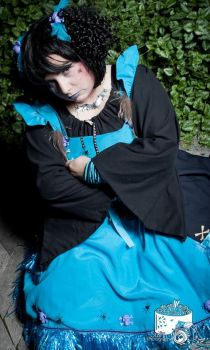 blue voodoo doll the waiting time by trixyloupwolf
